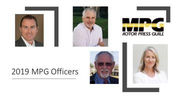 2019 MPG Board of Directors