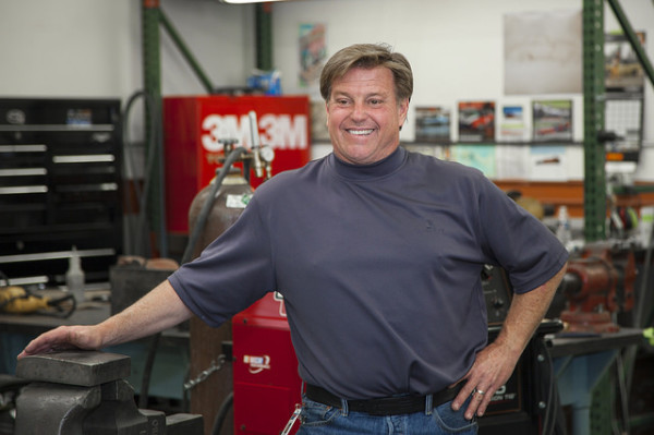 Chip Foose at Foose Design, March 31, 2016