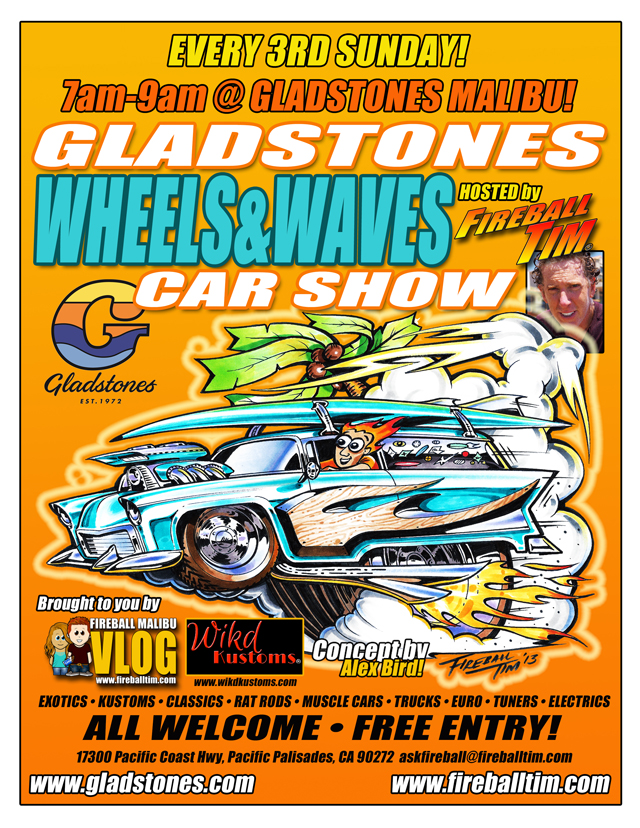 Wheels and Waves flyer