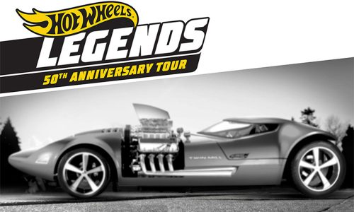 HOT WHEELS KICKS OFF LARGEST TRAVELING CAR SHOW WITH JAY LENO