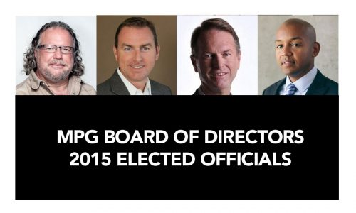 New 2015 MPG Board Officials Elected