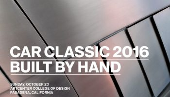 You're Invited: Art Center College of Design's Car Classic 2016