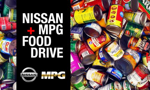 Join us for the Nissan + MPG Food Drive