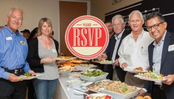 We need your help: Please pre-register for our luncheons