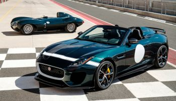 Jaguar F-TYPE Project 7 Rides at MPG Track Days