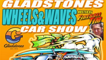 """Wheels and Waves"" launches at Gladstones on May 15th"