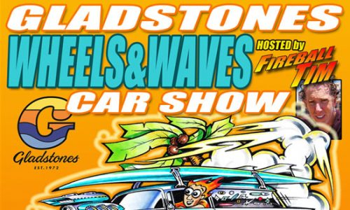 """""""Wheels and Waves"""" launches at Gladstones on May 15th"""