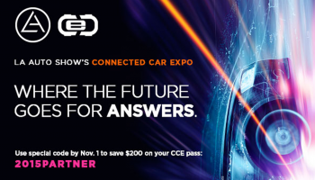 L.A. Auto Show's Connected Car Expo: Save $200 on your pass