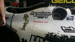 OnlineKars.com on Sebastien Bourdais' Winning Car