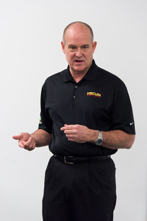 Mecum CEO, Dave Magers