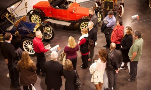 Introducing The White Glove Tour At America's Car Museum